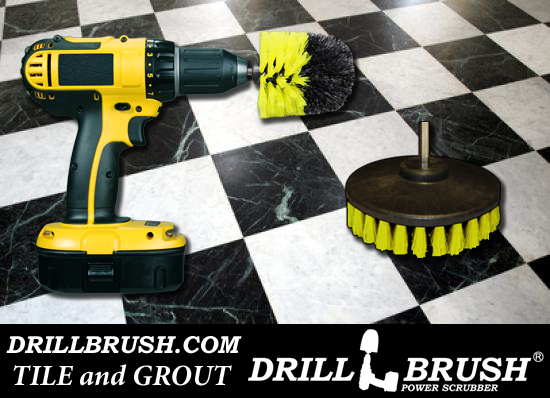 Tile And Grout Cleaning Brush